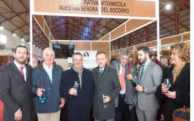 La aceptación de sus vinos y caldos en la X Feria Agroganadera Comarca de Doñana y II Enoberry afianza el posicionamiento de Bodegas del Socorro