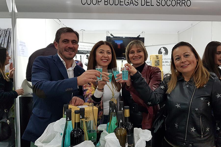 Bodegas del Socorro abre mercado en el Andévalo para satisfacer la demanda que ha constatado en la XIV Feria de Santa Bárbara