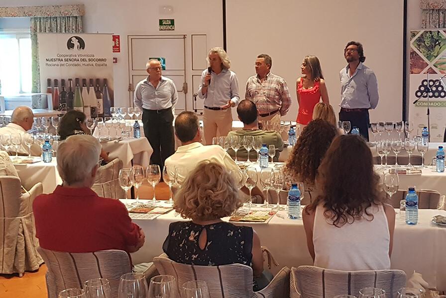 Bodegas del Socorro promociona sus mejores caldos en los hoteles de la costa de Huelva