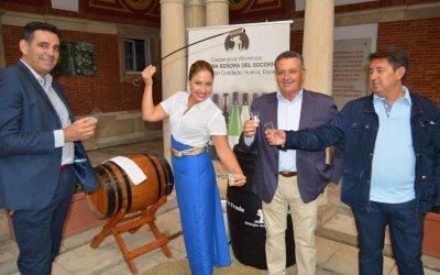 Bodegas del Socorro riega con los mejores caldos del Condado la Feria de la Tapa de Huelva
