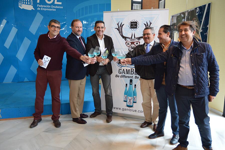 Bodegas del Socorro concentra la tradición e innovación del Condado en GamBlue, el primer frizzante azul de Huelva