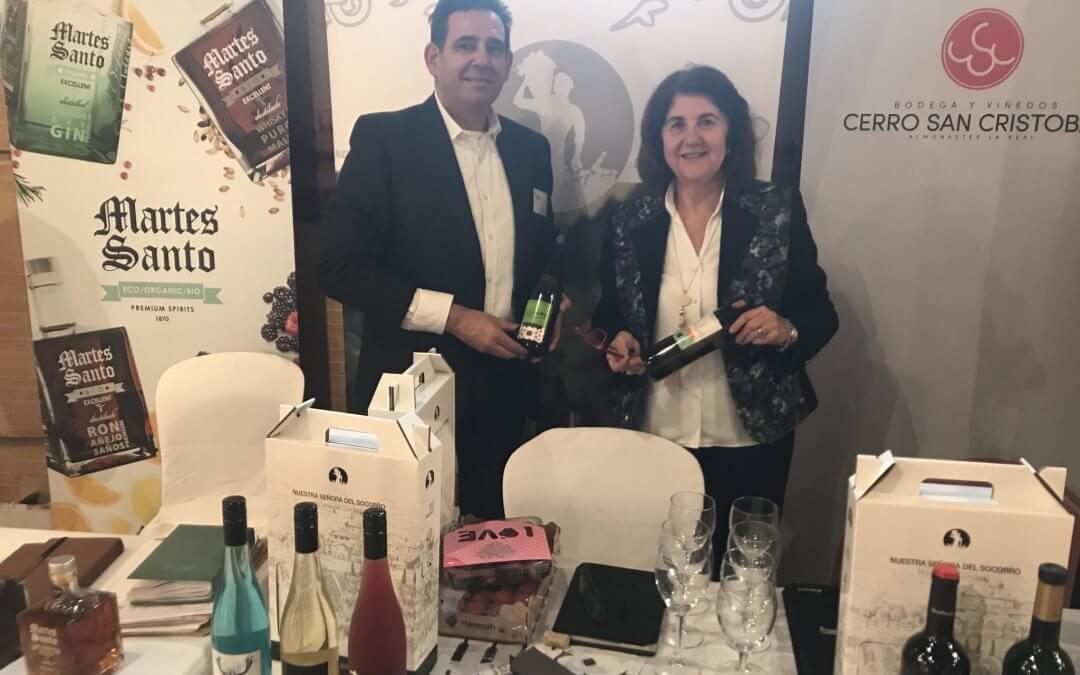 Bodegas del Socorro potencia sus relaciones comerciales en 'Huelva Excelencia', encuentro entre productores y distribuidores