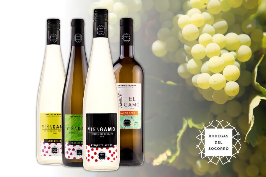 Bodegas del Socorro renueva la imagen de su gama de vinos blancos y mostos para promocionar su consumo entre todos los públicos